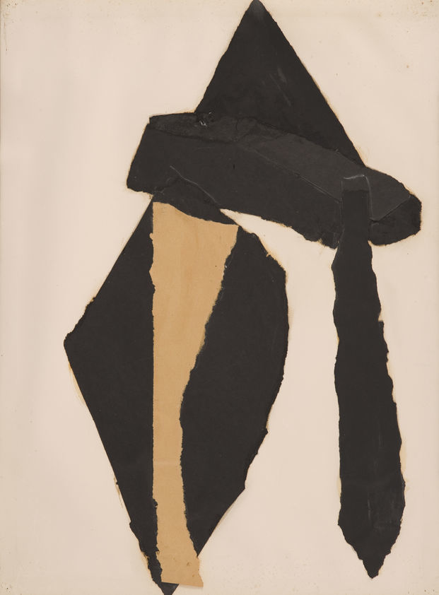 Collage on paper, 1978
