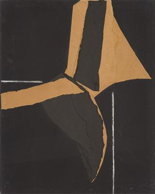 Acrylic and Paper on canvas, 1978
