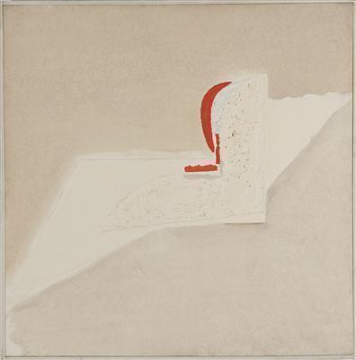 Beige Plaster and Red, 1982