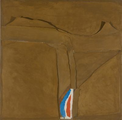 Canvas and Collage on Board, 1980s