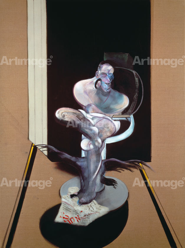 Enlarged version of Seated Figure, 1977