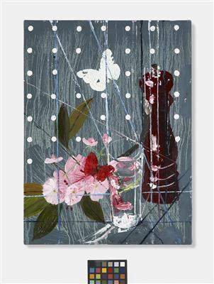 Blossom with Pepper Mill and Butterflies, 2010