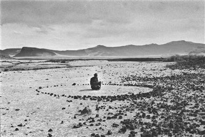 Nomad Circle, 1996 By Richard Long