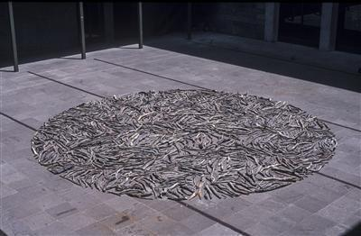 Bushwood Circle, 2000 By Richard Long