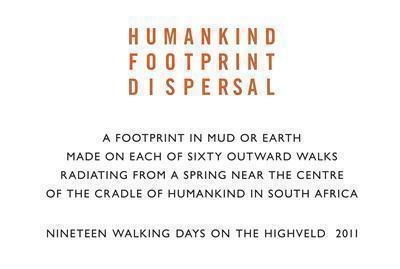 Humankind Footprint Dispersal, 2011