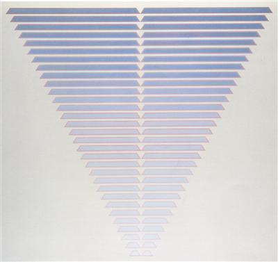 Thirty One Steps, 1986 By Tess Jaray