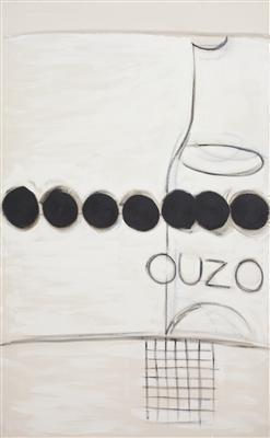 Ouzo and Black Olives, 1992 By Terry Frost