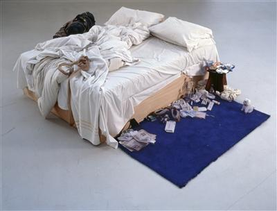 My Bed, 1998 By Tracey Emin