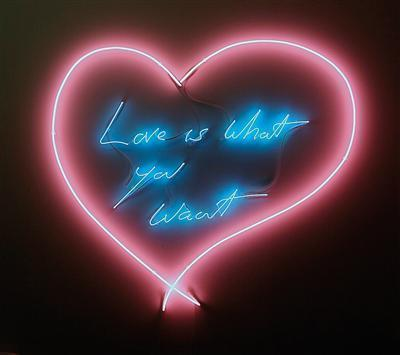 Love is What you Want, 2011 By Tracey Emin