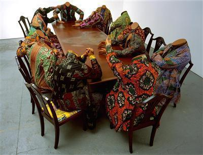 Scramble for Africa, 2003 By Yinka Shonibare CBE
