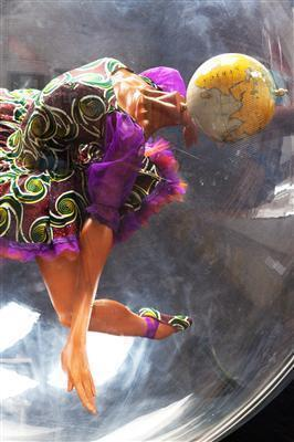 Globe Head Ballerina, 2012 (Installation view, Royal Opera H... By Yinka Shonibare CBE