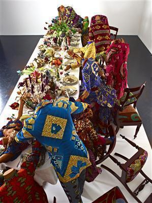 Last Supper (after Leonardo), 2013 (detail)  By Yinka Shonibare CBE
