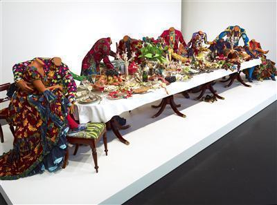 Last Supper (after Leonardo), 2013 By Yinka Shonibare CBE