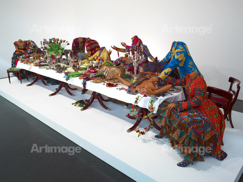 Enlarged version of Last Supper (after Leonardo), 2013