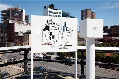 Viewing Station, The High Line, New York, 2010-2011