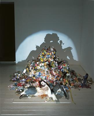 Dirty White Trash (with Gulls), 1998 By Tim Noble and Sue Webster