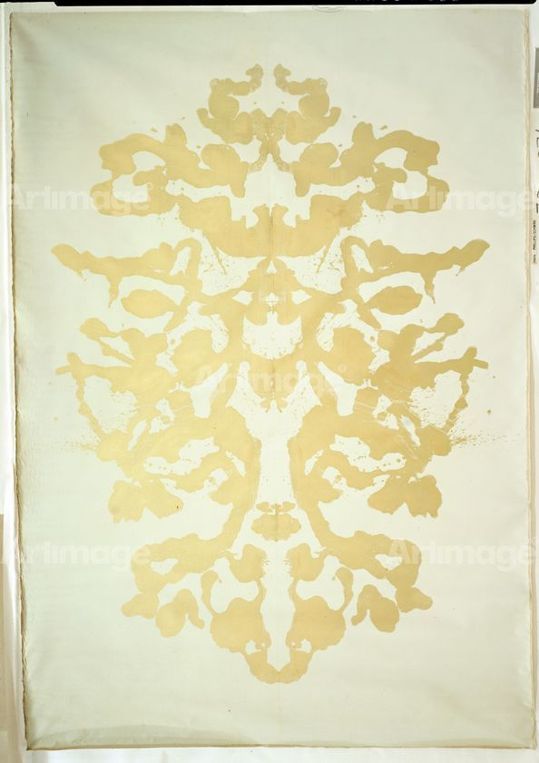 Enlarged version of Rorschach, 1984
