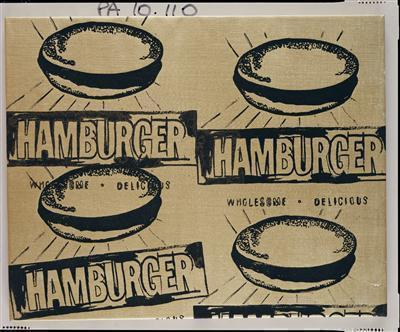 Four Hamburgers, c. 1985-86