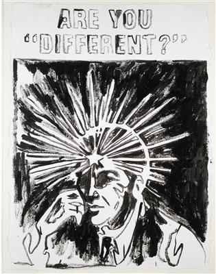 "Are You ""Different?"", c. 1985 By Andy Warhol"