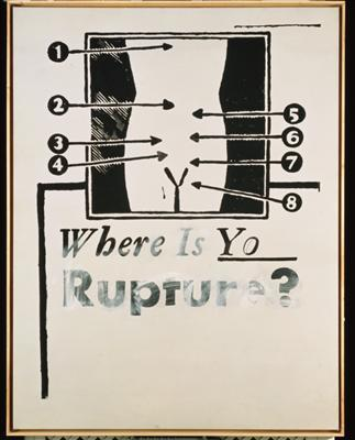 Where is Your Rupture?, 1961 By Andy Warhol