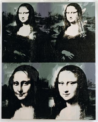 Mona Lisa, c. 1979 By Andy Warhol