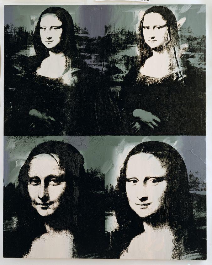 Très bien Mona Lisa, c. 1979 : Andy Warhol : Artimage &ZV_93