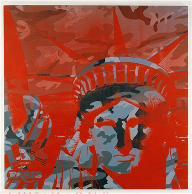 Statue of Liberty, 1986 By Andy Warhol