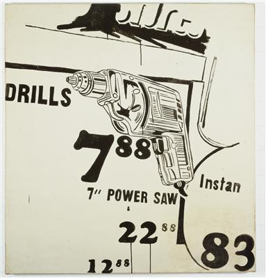 Drills 7.88, 1960 By Andy Warhol