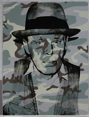 Joseph Beuys In Memoriam, 1986 By Andy Warhol