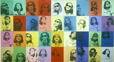 Ethel Scull Thirty-Six Times, 1963 By Andy Warhol