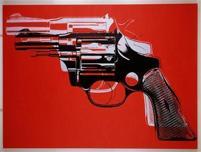 Gun, 1982 By Andy Warhol