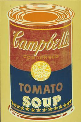 Colored Campbell's Soup Can, 1965 By Andy Warhol