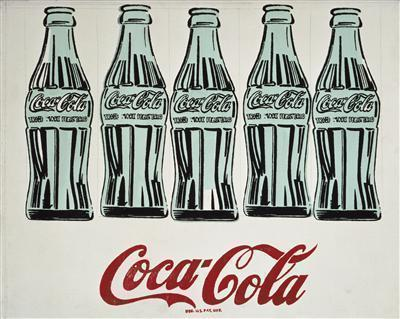 Five Coke Bottles, 1962 By Andy Warhol