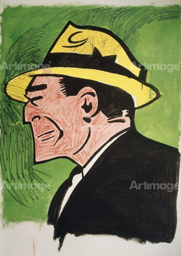Enlarged version of Dick Tracy, 1960