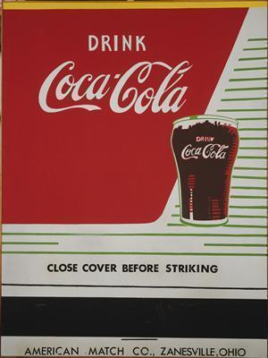 Close Cover Before Striking (Coca-Cola), 1962 By Andy Warhol