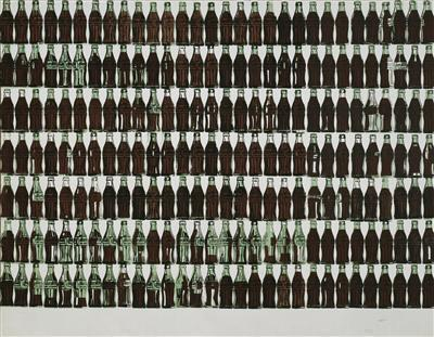 210 Coca-Cola Bottles, 1962 By Andy Warhol