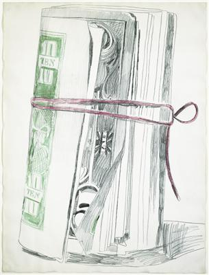 Roll of Bills, 1962 By Andy Warhol