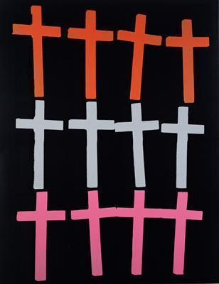 Crosses, c. 1981-82 By Andy Warhol
