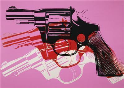 Gun, c. 1981-82 By Andy Warhol