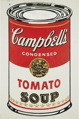 Campbell's Soup Can (Tomato), 1964 By Andy Warhol