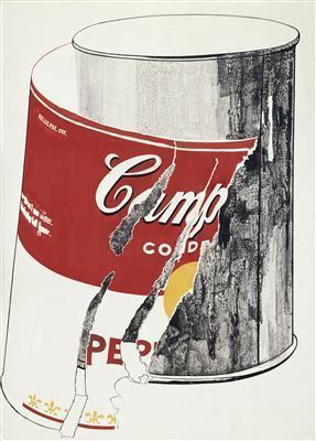 Big Torn Campbell's Soup Can (Pepper Pot), 1962