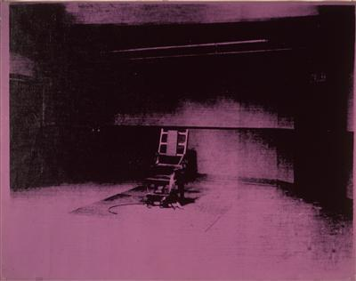 Little Electric Chair, 1964-65 By Andy Warhol