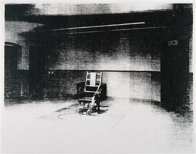 Little Electric Chair, 1965 By Andy Warhol