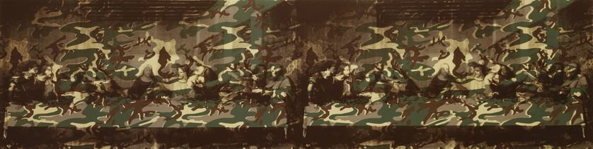 The Last Supper (The Last Supper Twice With Camouflage), 1986