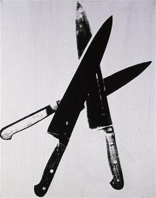 Knives, c. 1981-82 By Andy Warhol
