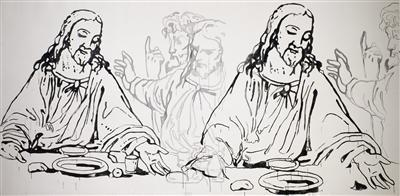 Details of The Last Supper, 1986