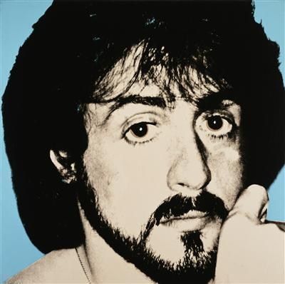 Sylvester Stallone, 1980 By Andy Warhol