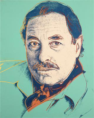Tennessee Williams, c. 1983 By Andy Warhol