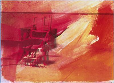 Electric Chair, 1971 By Andy Warhol