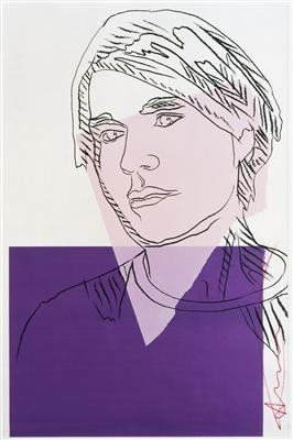 Self-Portrait, 1978 By Andy Warhol